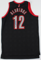 LaMarcus Aldridge Signed Trail Blazers Jersey (JSA COA) at PristineAuction.com