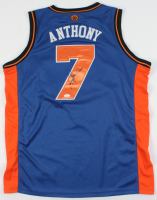 Carmelo Anthony  Signed Knicks Jersey (JSA COA) at PristineAuction.com