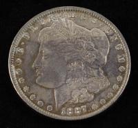 1887 Morgan Silver Dollar at PristineAuction.com