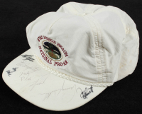 Pebble Beach National Pro-AM Golf Hat Signed by (7) with Brad Faxon, Ed Daughtry, Lanny Wadkins (JSA COA) at PristineAuction.com