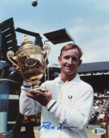 Rod Laver Signed 8x10 Photo (Beckett COA) at PristineAuction.com