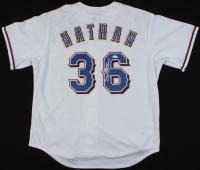 Joe Nathan Signed Rangers Jersey (JSA COA) at PristineAuction.com