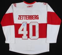 Henrik Zetterberg Signed Red Wings Jersey (JSA COA) at PristineAuction.com