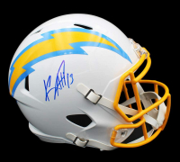 Keenan Allen Signed Chargers Full-Size Speed Helmet (Radtke COA) at PristineAuction.com
