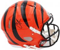 "Chad ""Ochocinco"" Johnson Signed Bengals Full-Size Authentic On-Field Speed Helmet (Radtke COA) at PristineAuction.com"