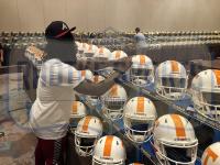 Alvin Kamara Signed Tennessee Volunteers Full-Size Authentic On-Field Speed Helmet (Radtke COA) at PristineAuction.com