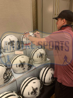 Drew Brees Signed Saints Full-Size Authentic On-Field Matte White Speed Helmet (Radtke COA) at PristineAuction.com