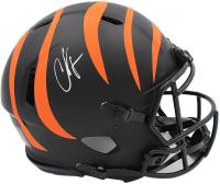 "Chad ""Ochocinco"" Johnson Signed Bengals Full-Size Authentic On-Field Eclipse Alternate Speed Helmet (Radtke COA) at PristineAuction.com"