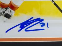 Scott Laughton Signed Flyers 11x14 Custom Framed Photo Display (Beckett COA) at PristineAuction.com