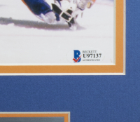 Grant Fuhr Signed Oilers 16x20 Custom Framed Photo (Beckett COA) at PristineAuction.com