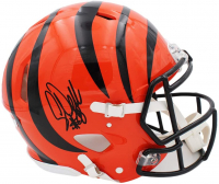 Corey Dillon Signed Bengals Full-Size Authentic On-Field Speed Helmet (Radtke COA) at PristineAuction.com