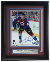 Gabriel Landeskog Signed Avalanche 11x14 Custom Framed Photo Display (Beckett COA) at PristineAuction.com