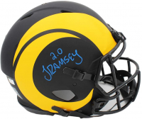 Jalen Ramsey Signed Rams Full-Size Authentic On-Field Eclipse Alternate Speed Helmet (Radtke COA) at PristineAuction.com