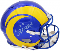 Jalen Ramsey Signed Rams Full-Size Authentic On-Field Speed Helmet (Radtke COA) at PristineAuction.com