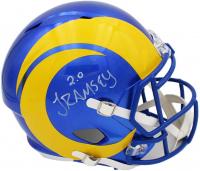 Jalen Ramsey Signed Rams Full-Size Speed Helmet (Radtke COA) at PristineAuction.com