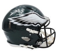 Donovan McNabb Signed Eagles Full-Size Authentic On-Field Speed Helmet (Radtke COA) at PristineAuction.com