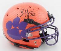 Brian Dawkins Signed Clemson Tigers Full-Size Authentic On-Field Hydro-Dipped Helmet (JSA COA) at PristineAuction.com