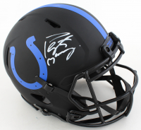Peyton Manning Signed Colts Full-Size Authentic On-Field Eclipse Alternate Speed Helmet (Fanatics Hologram) at PristineAuction.com
