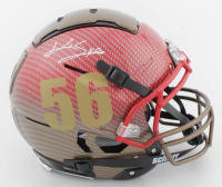 Kwon Alexander Signed Full-Size Authentic On-Field Hydro-Dipped F7 Helmet (JSA COA) at PristineAuction.com