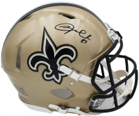 Jared Cook Signed Saints Full-Size Authentic On-Field Speed Helmet (JSA COA) at PristineAuction.com