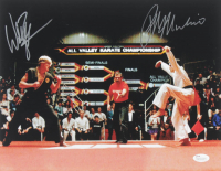 "Ralph Macchio & William Zabka Signed ""The Karate Kid"" 11x14 Photo (JSA COA) at PristineAuction.com"