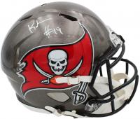 Keyshawn Johnson Signed Buccaneers Full-Size Authentic On-Field Speed Helmet Radtke COA) at PristineAuction.com