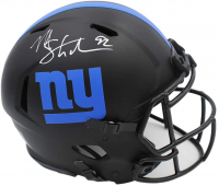 Michael Strahan Signed Giants Full-Size Authentic On-Field Eclipse Alternate Speed Helmet (Radtke COA) at PristineAuction.com