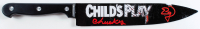 """Ed Gale Signed """"Child's Play"""" Replica Stainless Steel Knife Inscribed """"Chucky"""" (PSA COA) at PristineAuction.com"""