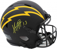 Keenan Allen Signed Chargers Full-Size Authentic On-Field Eclipse Alternate Speed Helmet (Radtke COA) at PristineAuction.com