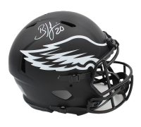 Brian Dawkins Signed Eagles Full-Size Authentic On-Field Eclipse Alternate Speed Helmet (Radtke COA) at PristineAuction.com