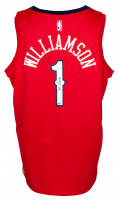 Zion Williamson Signed Pelicans Air Jordan Jersey (Fanatics Hologram) at PristineAuction.com
