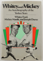"Mickey Mantle & Whitey Ford Signed ""Whitey and Mickey - An Autobiography of the Yankee Years"" Hardcover Book (JSA ALOA) at PristineAuction.com"