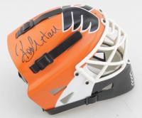 Sean Burke & Ron Hextall Signed Flyers Mini Helmet (JSA COA) at PristineAuction.com