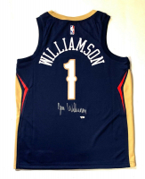 Zion Williamson Signed Pelicans Jersey (Fanatics) at PristineAuction.com