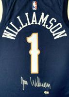 Zion Williamson Signed Pelicans Jersey (Fanatics) at PristineAuction.com