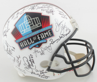 Pro Football Hall of Fame Full-Size Helmet Signed By (39) with Thurman Thomas, Bobby Mitchell, Roger Staubach, Jim Kelly with Multiple Inscriptions (JSA ALOA) at PristineAuction.com