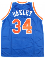Charles Oakley Signed Jersey (PSA COA) at PristineAuction.com