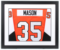 Steve Mason Signed 29x35 Custom Framed Jersey Display (Beckett COA) (See Description) at PristineAuction.com