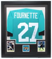 Leonard Fournette Signed 31x35 Custom Framed Jersey (JSA Hologram) (See Description) at PristineAuction.com