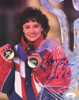"Bonnie Blair Signed Team USA 8x10 Photo Inscribed ""Gold X 5"" (JSA COA) at PristineAuction.com"