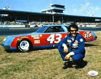 Richard Petty Signed NASCAR 8x10 Photo (JSA COA) at PristineAuction.com