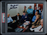 "Joe Biden Signed 8x10 Photo Inscribed ""They Did It!"" (PSA Encapsulated) at PristineAuction.com"