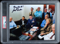 """Joe Biden Signed 8x10 Photo Inscribed """"They Did It!"""" (PSA Encapsulated) at PristineAuction.com"""