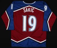 Joe Sakic Signed Jersey (AJ's Sports World COA) at PristineAuction.com