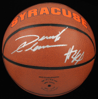 Derrick Coleman Signed Syracuse Orange Logo Basketball (JSA COA) at PristineAuction.com