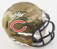 Charles Tillman Signed Bears Camo Alternate Speed Mini Helmet (Beckett COA) at PristineAuction.com