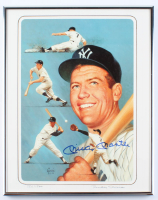 Mickey Mantle Signed LE 11x14 Custom Framed Art Print (JSA ALOA) at PristineAuction.com