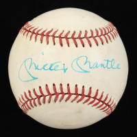 Mickey Mantle Signed OL Baseball (JSA ALOA) at PristineAuction.com