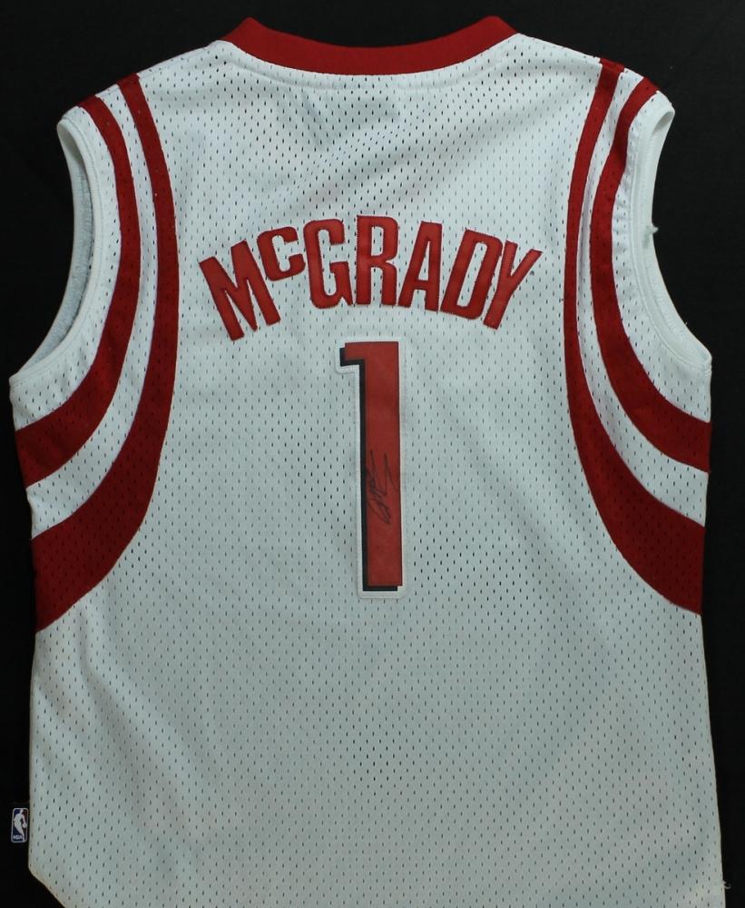 buy online 2182e aafb9 tracy mcgrady signed jersey