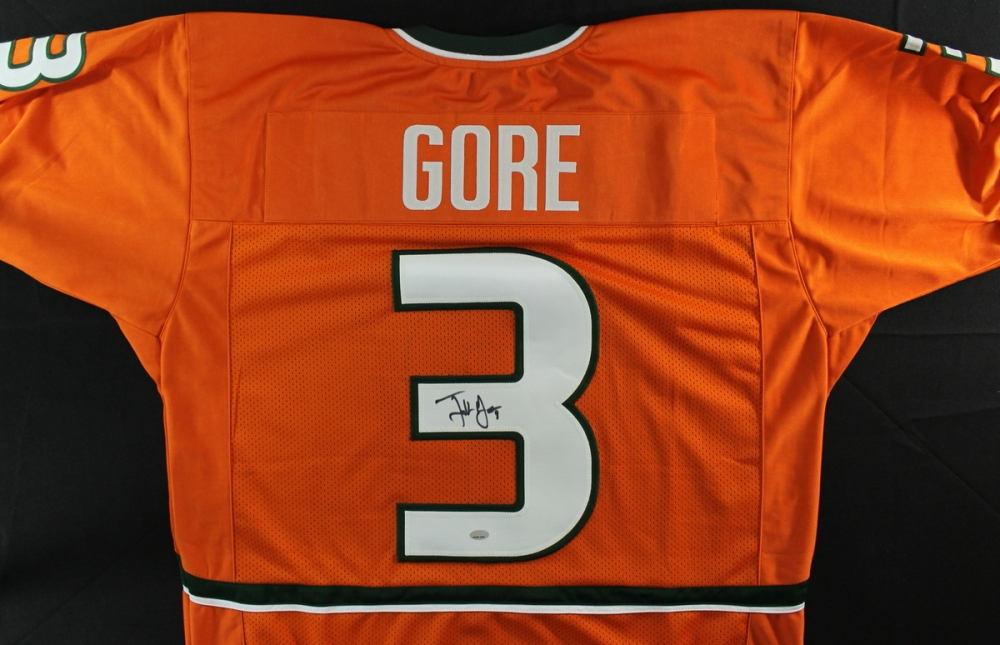 signed frank gore jersey